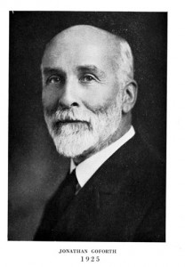 Dr Jonathan Goforth