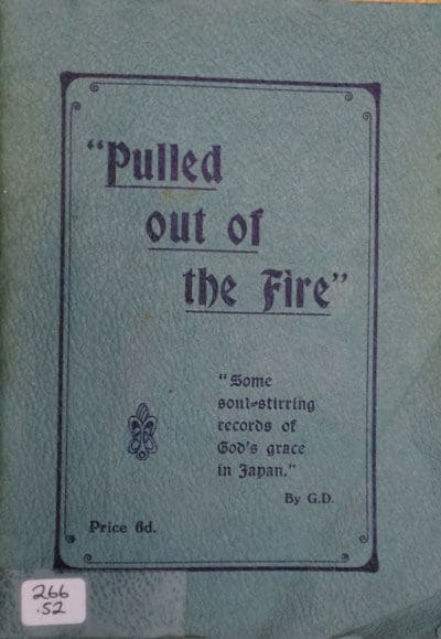 """""""Pulled Out Of The Fire"""" by Japan Rescue Mission"""
