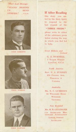 The Three Freds Bookmark