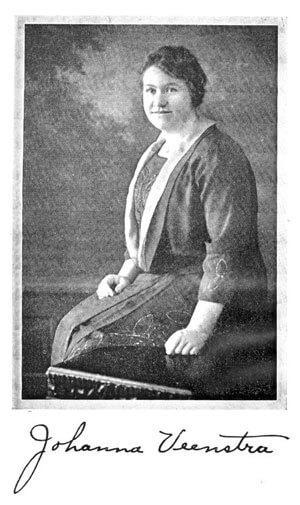 Johanna Veenstra [1894-1933], Pioneering for Christ in the Sudan