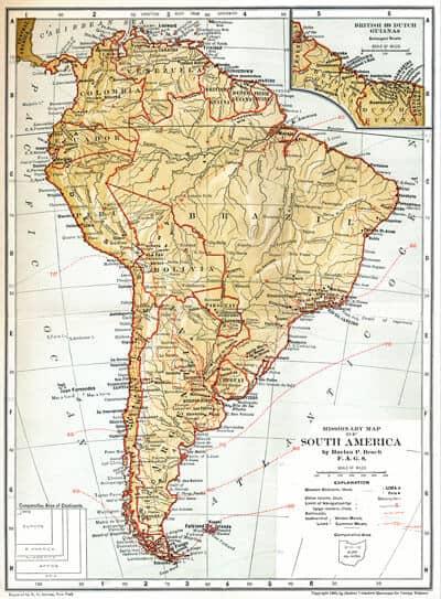 Harlan P. Beach, F.P.L. Josa, J. Taylor Hamilton, H.C. Tucker, C.W. Drees, I.H. La Fetra, T.B. Wood & T.S. Pond, Protestant Missions in South America