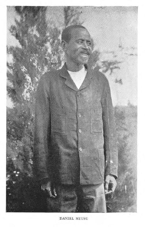 Daniel Mtusu (frontispiece)