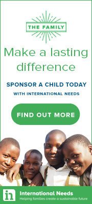 Advertisement - SPonsor a Child with International Needs
