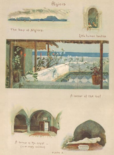 Lilias Trotter, Between the Desert and the Sea (with 16 paintings)
