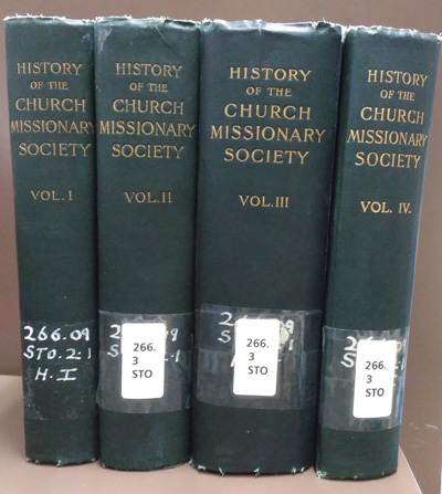 Eugene Stock [1836-1928], The History of the Church Missionary Society. Its Environment, Its Men and Its Work, 4 Vols.