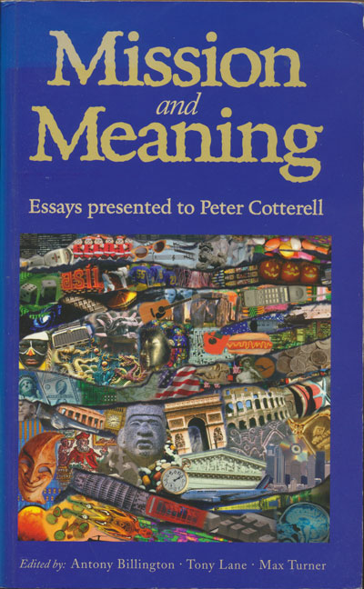 Mission and Meaning: Essays Presnted to Peter Cotterell